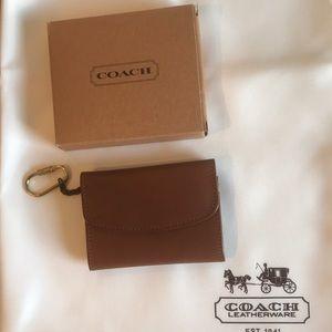 🌸🌷Coach Vintage Wallet/ Cardcase Keychain.